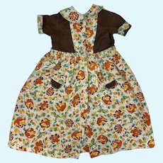 Darling Dress for Large Mama Dolls 1940s