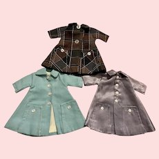 Three Lovely Coats for Ideal Tammy