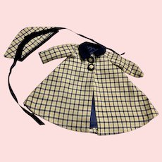 Fashion Doll Coat and Hat