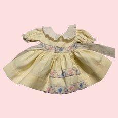 Original Ideal Toni Doll Dress 1950s