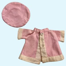 Pink Coat and Tam