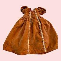 Original Madame Alexander Velvet Sleeping Beauty Doll Dress