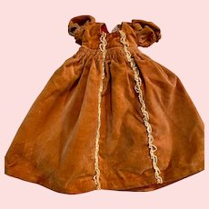 Original Madame Alexander Velvet Sleeping Beauty Doll Dress