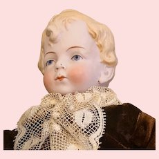 Mignonette Boy Bisque Doll