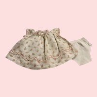 Dimity Dress and Underwear for Toddlers and Babies 1940s