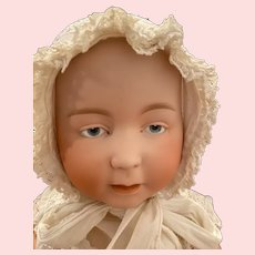 Very Rare Antique Lori Swaine Baby with Intaglio Eyes