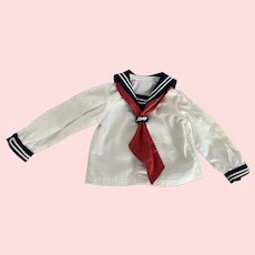 Nautical Blouse for French or German Bisque