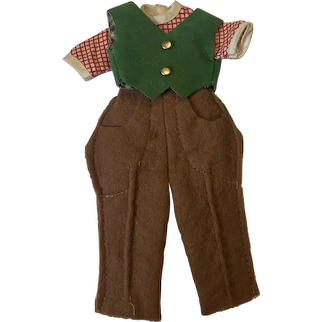 American Character Betsy McCall Rising Outfit 1950s