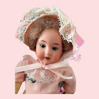 """German AM 390 8"""" Bisque Doll"""