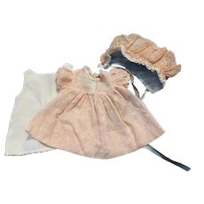 Three Piece Outfit for Babies and Toddlers 1950s