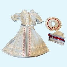 Beautiful Four Piece Outfit for Bleuette Dolls