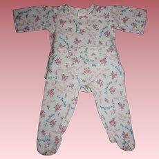 Rare Dy-Dee Louise Signature Pajamas 1940s