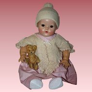 Two Piece Sweater Set for Large Dolls 1900