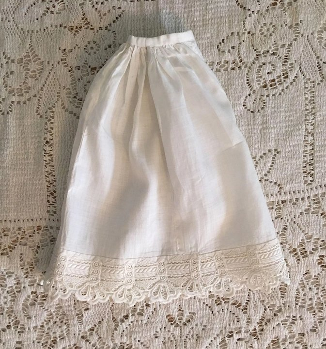 fe5cee24505 Antique Half Slip and Pantaloons for Bisque Dolls 1890   Camelot ...