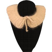 Angora Collar for Dolls 1950s