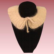 Angora Collar for Dolls 1950s