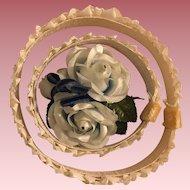 Circlet Flower Hat for Dolls 1950