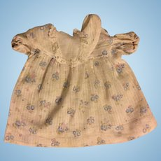 Early Effanbee Dy-Dee Baby Dress