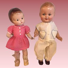Two Outfits for Patsy and Friends 1940s