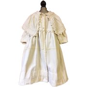 Antique Toddler Coat for Large Dolls 1880