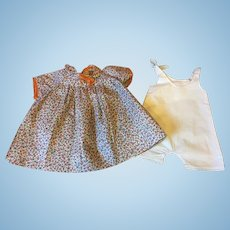 Dress and Chemise for Shirley Temple, Patsy Lou and Friends 1930s