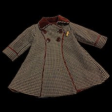 Rare Original Dewees Cochran Effanbee American Child Coat