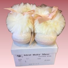 MIB Pink Fur-trimmed any Shoes