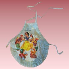 Dy-Dee Baby Snow White Nursery Rhyme Apron 1950s