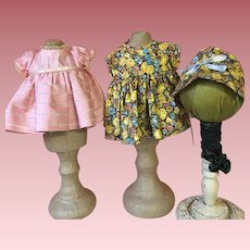 Two Vintage for American Character Tiny Tears and Friends 1950s