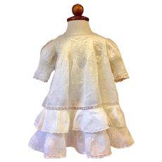 White Edwardian Dress Early 1900s
