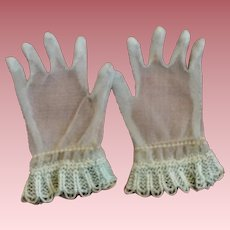 Blue Fashion Doll Gloves 1950s Cissy and Friends