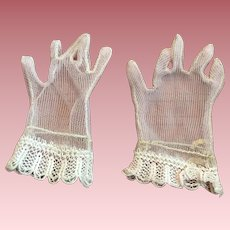 Light Pink Fashion Doll Gloves 1950s