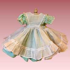 "Dress, Pinafore, Slip, Bloomers Madame Alexander Lissy Little Women ""Amy"""