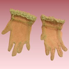 Tulle Fashion Doll Gloves 1950s