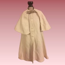 Antique Cape Coat For French or German Bisque Dolls