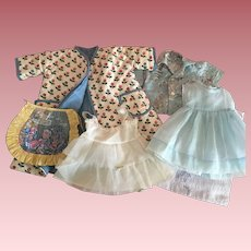 Seven Piece Layette for Effanbee Dy-Dee and Friends 1950s