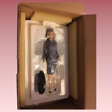 Mint in Box Pan American Stewardess Barbie Figurine 1994