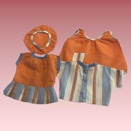 Four Piece Outfit for Composition Dolls 1930s