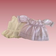 Lavender Batiste Smocked Baby Doll Dress and Slip