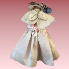 Three Piece Fashion Doll Outfit 1950s
