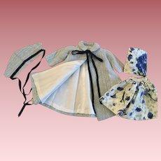 Lovely Four Piece Fashion Doll Ensemble 1950s