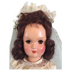 "Mint in Box 17"" Eugenia Doll 1950"