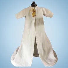 Baby Gown and Robe for Bisque Dolls 1910