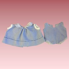 Effanbee Patsy Junior Dress and Chemise 1930s