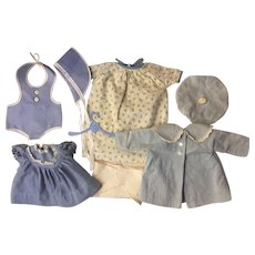 Layette Clothes for American Character Tiny Tears, Dy-Dee and Friends 1950s