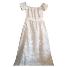 Antique Christening Gown 1890