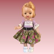 Brown Eyed Muffie Doll 1950s