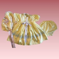 Three Piece Outfit for Large Baby Dolls 1950s