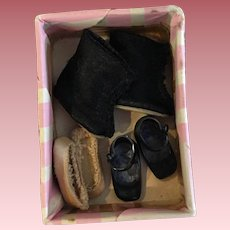 Three Pairs of American Character Betsy McCall Shoes