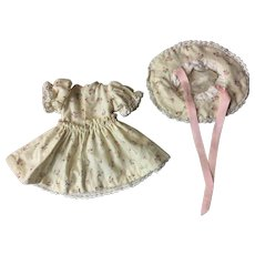 Dress and Hat For Composition Dolls 1930
